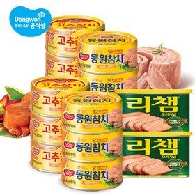 [동원] 참치85g x 22캔+리챔 x 2캔
