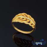 [별이랑]순금 24k 반지(러블리 잎사귀 3.75g 1d)