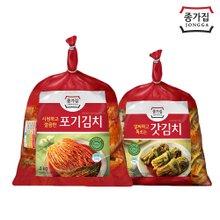 [종가집] 포기김치 4kg + 돌산갓김치 3kg