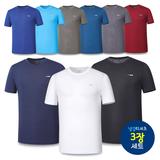 [파라고나] 무료배송 3장세트 남녀 크레오라 냉감 반팔 티셔츠 9종