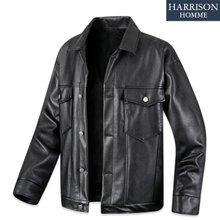 [해리슨] 남자 레더 트러커 자켓 RTW1595