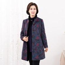 마담4060 엄마옷 페이즐리밍크울코트-ZCO912006-