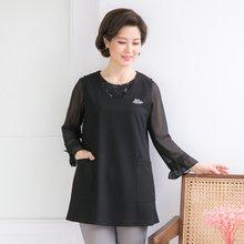 마담4060 엄마옷 이지포켓조끼-ZVE003002-