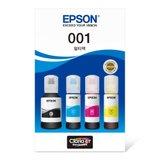 [EPSON] 엡손 잉크 T03Y 4색 세트 (검/빨/파/노)
