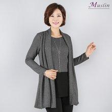 모노 숄카라 티셔츠 -TD8032320-모슬린 엄마옷 마담