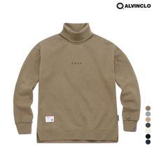 [앨빈클로]MAR-640 목폴라 오버핏 맨투맨 티셔츠