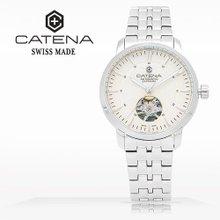 카테나(CATENA) 오토매틱 여성메탈시계(CA026D-EM)