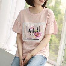 [웬디즈갤러리]와일드 반팔 티셔츠 RTS012