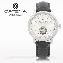 카테나(CATENA) 오토매틱 남성가죽시계(CA026H-EA)
