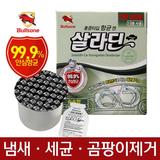 [불스원] 살라딘 훈증 항균캔-실내용(민트향/숲속향/쿨아쿠아향)/냄새제거/악취/세균클리닝/탈취제
