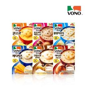 [보노스프] [보노스프] 1각 3봉입 골라담기 (콘/버섯/크림/치즈/시금치/어니언)