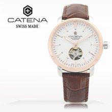 카테나(CATENA) 오토매틱 남성가죽시계(CA026H-4FU)