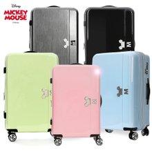 [디즈니정품] 미키마우스 파스텔 여행용캐리어/여행가방/캐리어/20인치