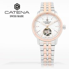 카테나(CATENA) 오토매틱 여성메탈시계(CA026D-4FM)