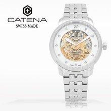 카테나(CATENA) 오토매틱 남성메탈시계(CA025H-BM)