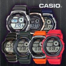 CASIO 카시오 AE-1000W 시리즈 10년전지 군인시계