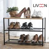리브온(LIVOON) 위크린 신발정리대 겸 3단선반