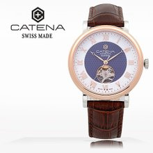 카테나(CATENA) 오토매틱 남성가죽시계(CA023H-4FU)