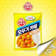 [오뚜기] 오뚜기 카레 약간 매운맛 1kg x 10개