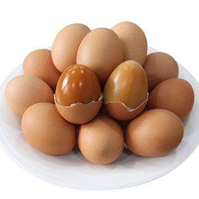 먹음직스럽게 구워진 구운계란(구운란) 30알