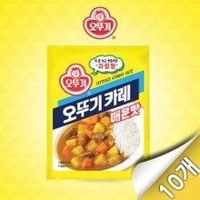 [오뚜기] 오뚜기 카레 매운맛 1kg x 10개