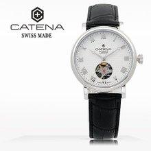 카테나(CATENA) 오토매틱 여성가죽시계(CA023D-FA)