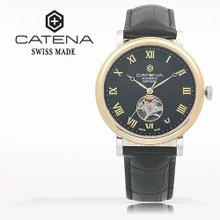 카테나(CATENA) 오토매틱 남성가죽시계(CA023H-1AA)