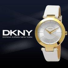 [QR인증]正品[DKNY]여성용 가죽시계(NY2295)