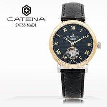 카테나(CATENA) 오토매틱 여성가죽시계(CA023D-1AA)