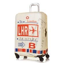 [Travel Mate] 에어포트 스판 캐리어커버 (LCS464) - 런던 - M