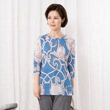 마담4060 엄마옷 미로칠부티셔츠 QTE907061
