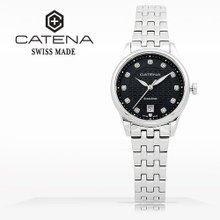 카테나(CATENA) 오토매틱 여성메탈시계(CA009D-AM)