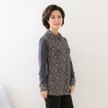 마담4060 엄마옷 만송이안개꽃티셔츠 QTE902015