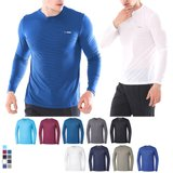 [파라고나]남성 사계절 긴팔 라운드 티셔츠 A19T100