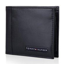 [타미힐피거 지갑] 블랙 남성 지갑 (22x063)