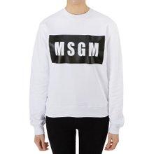 [엠에스지엠] 로고 2641MDM96 195299 01 여자 긴팔 맨투맨 티셔츠