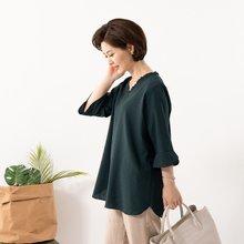 마담4060 엄마옷 러블리주름블라우스 QBL907106