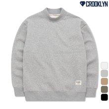 [크루클린] 반폴라 오버핏 맨투맨 티셔츠 MRL455