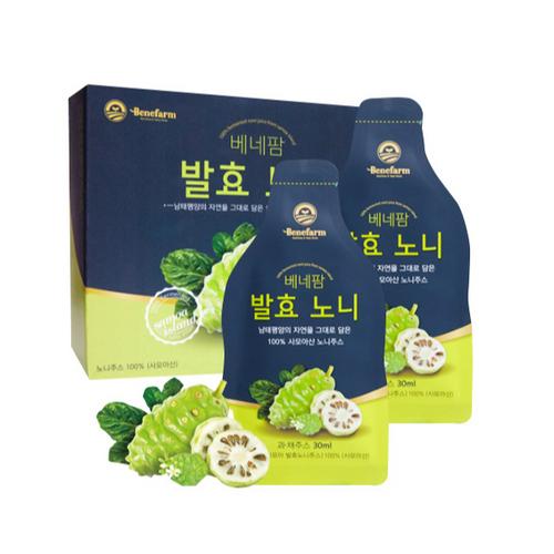 [베네팜] 사모아 발효 노니 주스 4박스 (16주분)