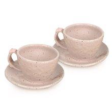 [박씨상방](2종)파스텔 핑크 커피잔세트