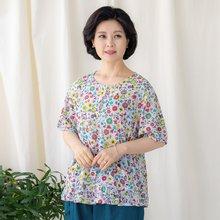 마담4060 엄마옷 꽃나라생활한복상의-ZKC005004-