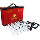 [한솔] 한솔 실속형 부항컵(제품구성:컵19개+펌프1개+연결호스1개+지압봉10개)