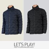 [마운틴가이드]겨울용 등산복/작업복/단체복/패딩/남성 덕다운 등산자켓 JPM-J744014