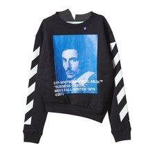 [오프화이트] [버니니 스플라이드 크루넥 셔츠] OMBA033F181920111030 /135881