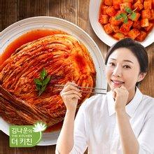 [김나운더키친] 서울식 생 포기김치4kg + 깍두기2kg
