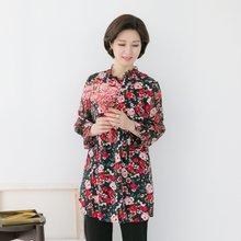 마담4060 엄마옷 최고의만남롱블라우스 QBL902022