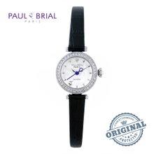 폴브리알(PAUL BRIAL) 여성시계(PB8008WTBK/가죽밴드)