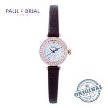 폴브리알(PAUL BRIAL) 여성시계(PB8008RGCH/가죽밴드)