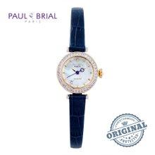 폴브리알(PAUL BRIAL) 여성시계(PB8008GDBU/가죽밴드)