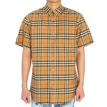 [버버리] 빈티지 체크 JAMESON 8022265 A2219 남자 반팔 셔츠